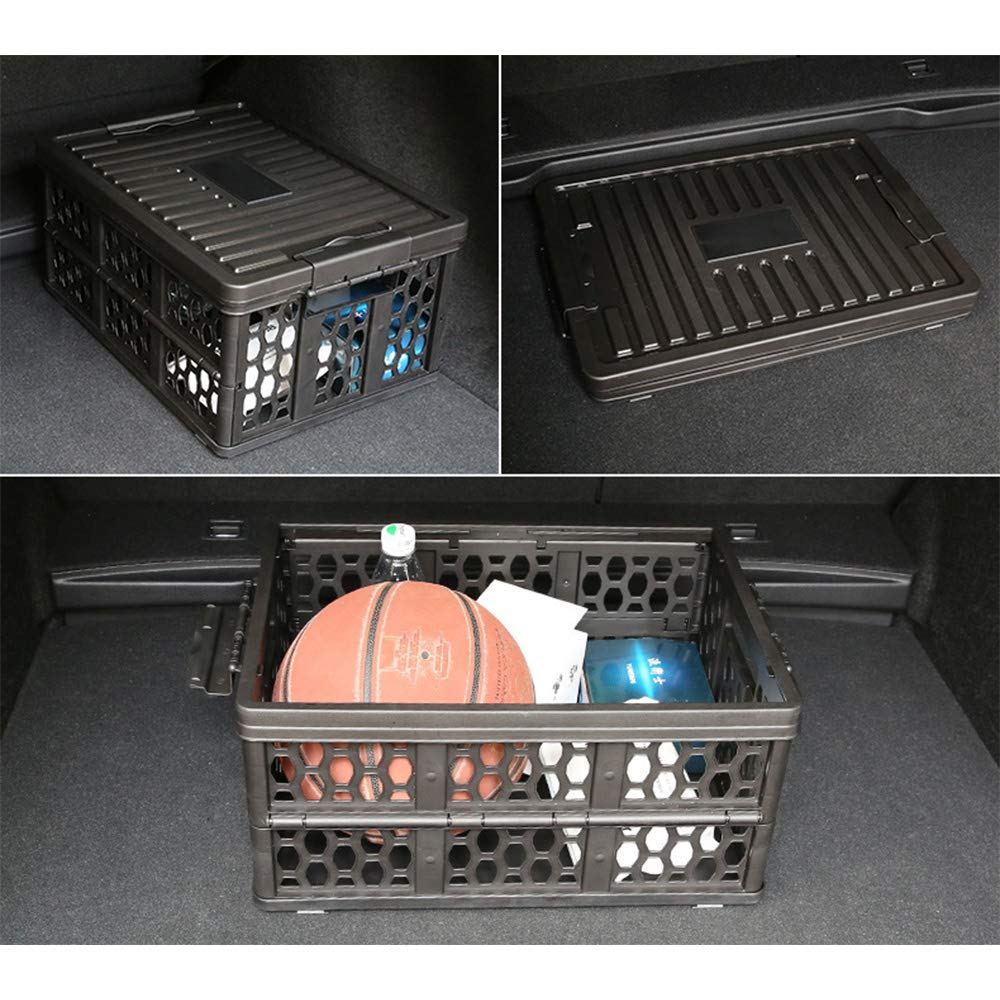 Petilleur Multi-Functional Storage Travel Box Trunk Storage Foldable Box Travel Car Crate Fishing Box