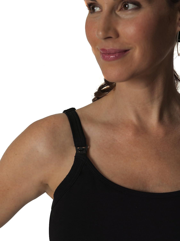 962113e4676 Glamourmom Nursing Bra Tummy Control Long Tanks at Amazon Women's Clothing  store: