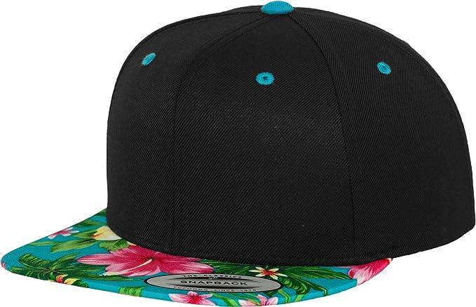 fa460113c29bf Flexfit Yupoong Hawaiian Snapback Cap Kappe Baseballcap Basecap Black blue