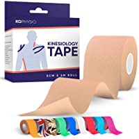 Kg Physio Kinesiology Tape - Kt Tape voor knie-, gewrichts-, spierondersteuning - Zelfklevende ongesneden sporttape om…
