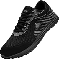 DYKHMILY Impermeable Zapatillas de Seguridad Anti-punción Ligeras Zapatos de Seguridad Trabajo Antideslizante Punta de…