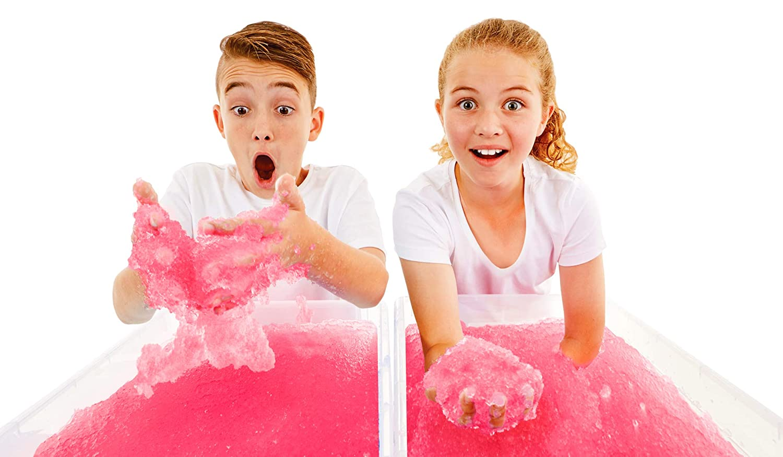 Certified Biodegradable Toy 2 Pack Bundle Pink /& Blue Bath Pack Zimpli Kids 10020 Baby Shark Gelli Baff Stickers Childrens