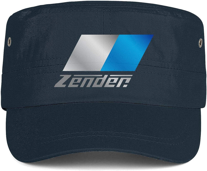 Zender-Logo Mens Woens Hats Snapback Military Cap Custom Hat Top Level Caps