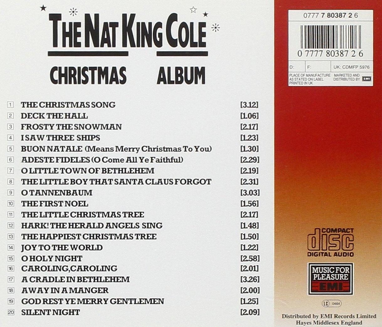 Nat King Cole Christmas Album - Nat King Cole: Amazon.de: Musik