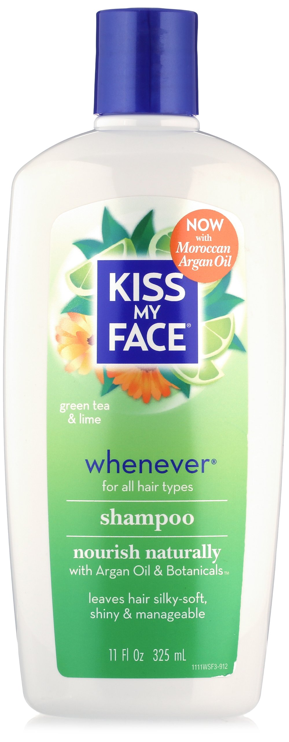 Kiss My Face Whenever Shampoo, Shampoo with Green Tea & Lime, 11 Ounce (Pack of 3) by Kiss My Face (Image #2)