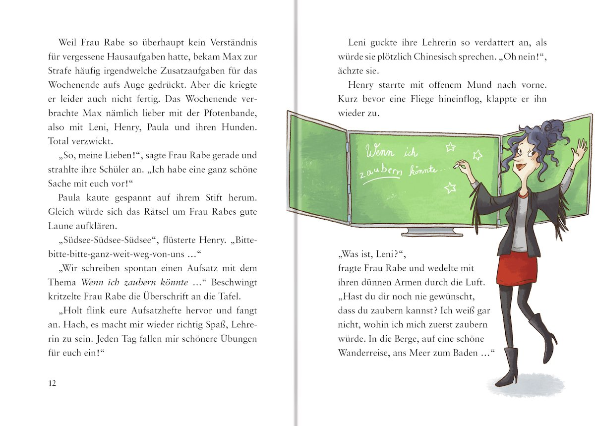 Die Pfotenbande, Band 2: Socke macht Theater: Amazon.de: Usch Luhn ...