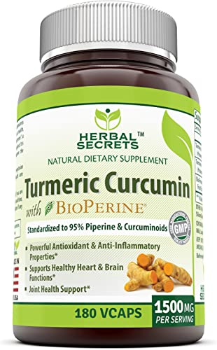 Herbal Secrets Turmeric Curcumin