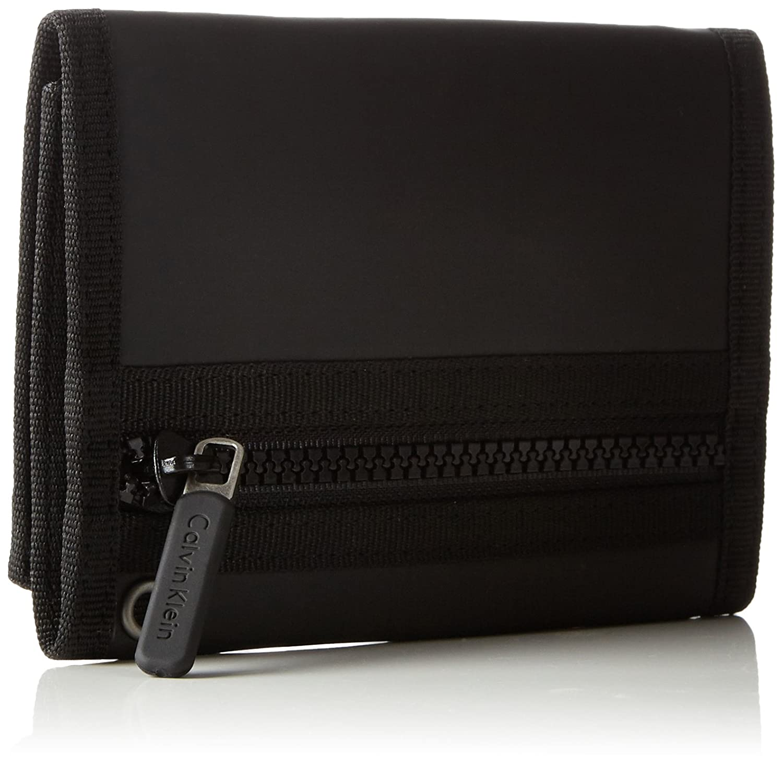Calvin Klein JeansMETRO 8CC + Coin - Billetera Hombre, Color Negro, Talla 14x10x3 cm (B x H x T): Amazon.es: Zapatos y complementos