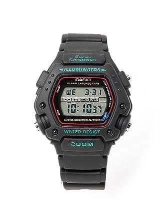 (ビームスライツ)BEAMS LIGHTS/腕時計 CASIO DW-290-1 メンズ BLACK ONE SIZE