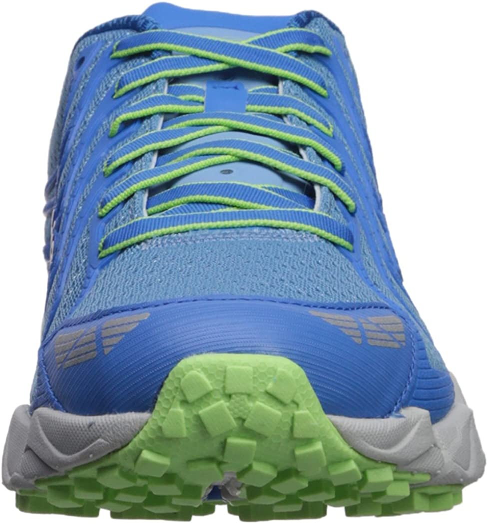 Columbia Women s Fluidflex F.K.T. II Trail Running Shoe, Blue Sky, Jade Lime, 9 B US