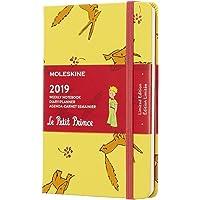 Agenda Moleskine 2019 Ed. Limitada Pequeno Príncipe, Semanal, 12 meses, Tamanho Bolso (9 cm x 14 cm), Amarelo Girassol, Capa Dura