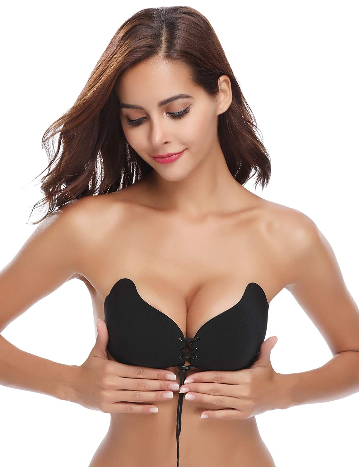 896735e8f2aa0 Aibrou Silicone Strapless Backless Reusable Bra