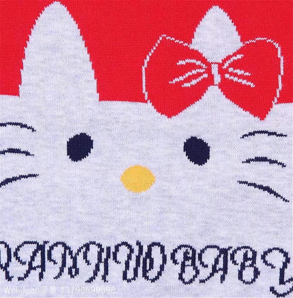 Fancyww Baby Toddler Boys Girls Knit Sweater Warm Cotton Casual Pullover Sweatshirt