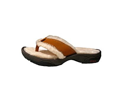 533b0544fc3 Ripa Mens Womens Himalayan Chestnut Shearling Slipper Sandal
