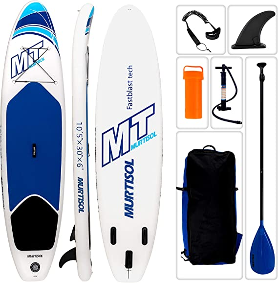 Murtisol 10'5'' Inflatable Stand Up Paddle Board(25 in / 30 in Width)
