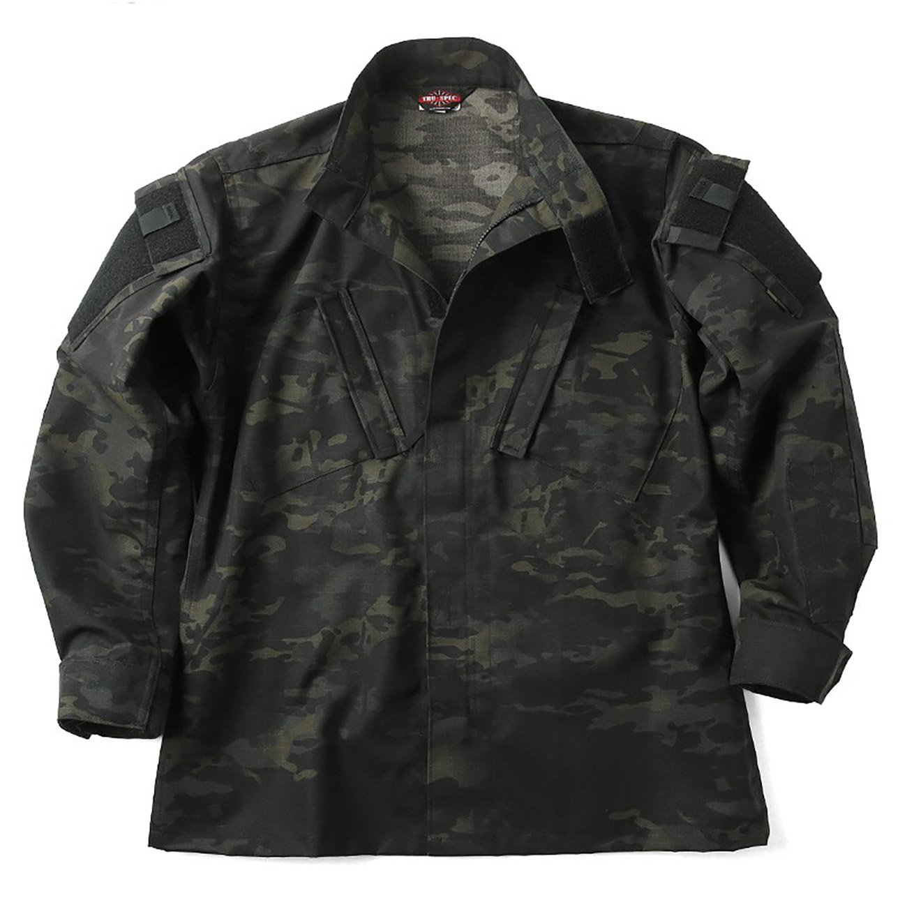 TRU-SPEC Tactical Response Uniform ジャケット(シャツ) MULTICAM FAMILY B07C9Z53MY M-R|1229 MultiCam Black 1229 MultiCam Black M-R