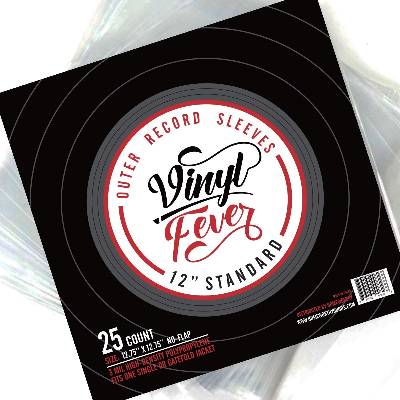 0.799 Each Durable 7.5 mil Crystal Clear Vinyl Long Side Opening Set of 250 6 1//2 x 10 3//4 Vinyl Plastic Sleeve