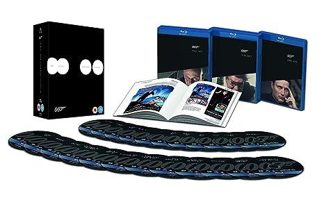 Pack James Bond 23+1 Premium Blu-Ray [Blu-ray]: Amazon.es: Sean ...