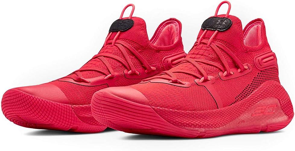 Under Armour Curry 6 - Zapatillas de Baloncesto para Hombre, Rojo ...