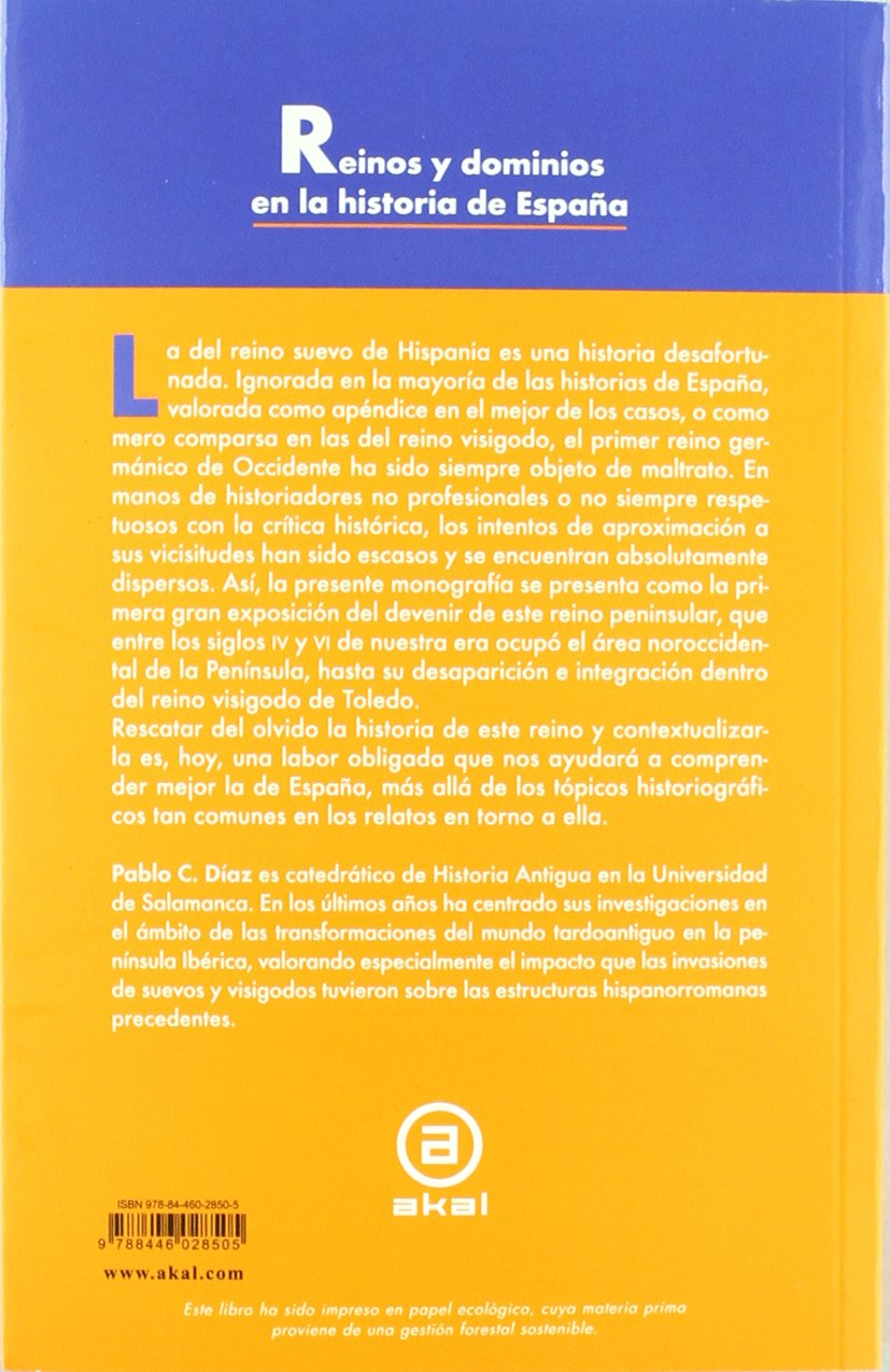 El Reino Suevo (411-585): 312 (Universitaria): Amazon.es: Díaz ...