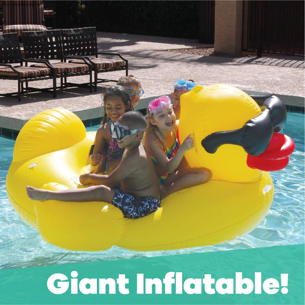 GAME 5000-BB Pool Rafts & Inflatable Ride-ons, Giant, Yellow