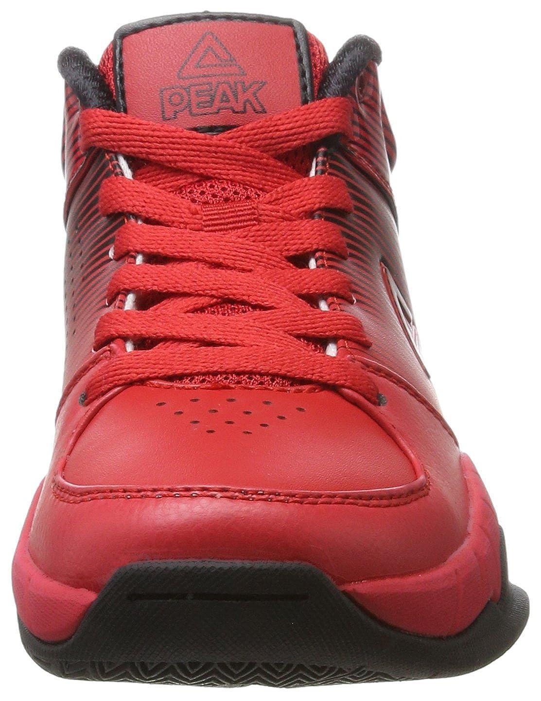 Peak Sport Europe Basketballshoe Kids Weave Zapatillas de Baloncesto Unisex para Ni/ños