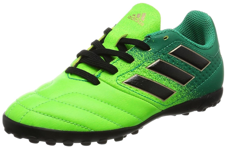 adidas Ace 17.4 TF J, para los Zapatos de Entrenamiento de fútbol Unisex Niños Verde (Versol/Negbas/Verbas) 29 EU BB1064
