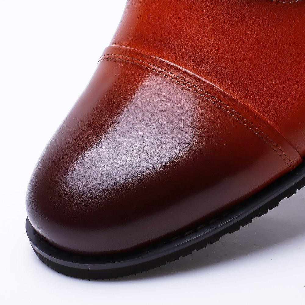 CHAMARIPA 252H11-1 Men's Height Increasing Elevator Dress Shoes Oxford 2.56'' Taller US 10 by CHAMARIPA (Image #5)