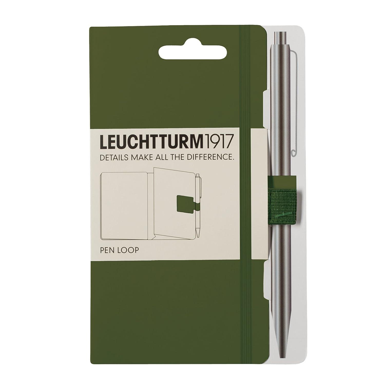 Leuchtturm1917 339275 - Pen loop lazo para bolígrafo, color negro