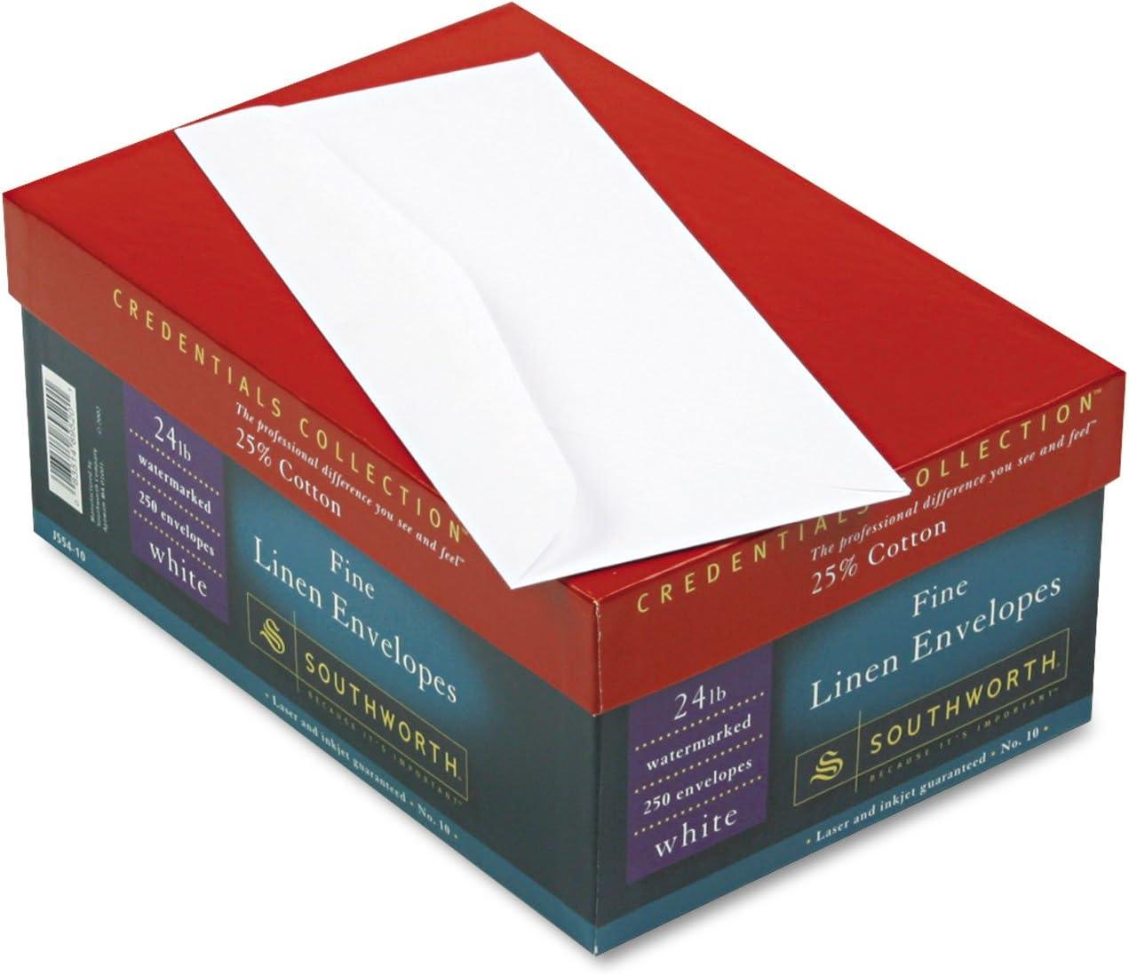 SOUJ55410-25/% Cotton 10 Envelope