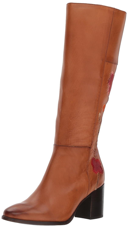 FRYE Women's Nova Flower Tall Boot B06XDVNH4B 9.5 B(M) US|Cognac