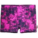 City Threads Girls' Swimming Bottom Boy Short UPF50+ Rash Guard Swim Made in USA