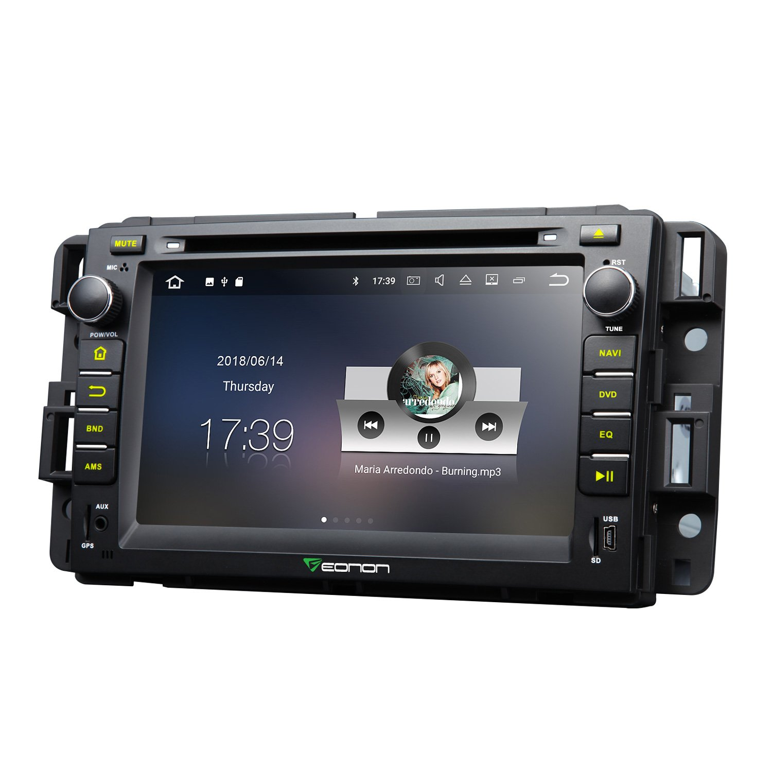 Amazon.com: Eonon Car Stereo Radio 7 Inch Android 7.1 In Dash Touch Screen GPS  Navigation for Chevrolet GMC Silverado Express Avalanche Acadia Impal 2GB  RAM ...