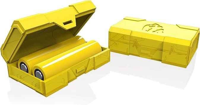 Estuche de batería dual de Chubby Gorilla - amarillo: Amazon.es: Amazon.es