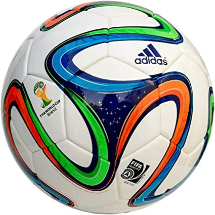 adidas Brazuca Hardground - Balón de fútbol de competición, Color ...