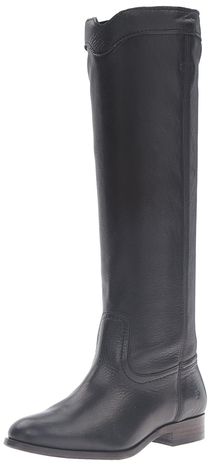 FRYE Women's Cara Roper Tall Riding Boot B01BLXWZJS 8 B(M) US|Black