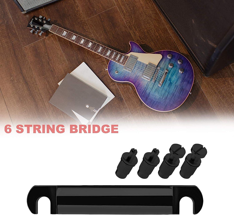 Silber Tune-o-Matic Saitenhalter /& Bridge mit Studs Fit für Epiphone LP Gitarre