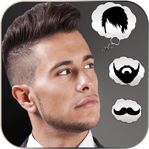 Man Hairstyle Makeover Editor - Try App On Glasses