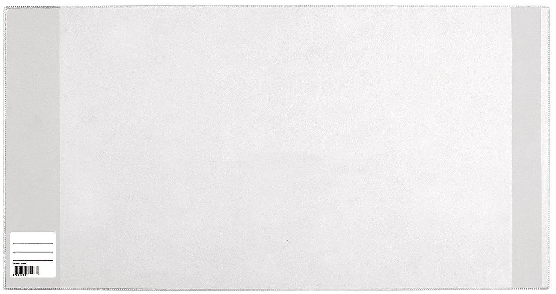 20er Pack | 265 /× 540mm 20 x HERMA Buchschoner PP mit Lasche transparent