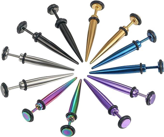 bunte Silikon Ohrhaken um Ihr Ohr zu l/ösen und Schmerzen f/ür Familienmitglieder zu lindern Kupton Einstellbar Ear Hook 6Pcs