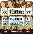 Organic Sumatra Water Decaf Coffee, Fair Trade, Mountain Water Processed, 12 oz. Whole Bean Bags, Fresh Roasted Coffee LLC. (3 Pack)