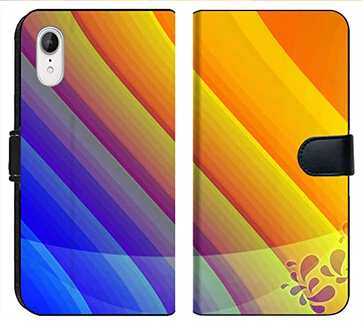 Amazon Com Apple Iphone Xr Flip Fabric Wallet Case Image Of