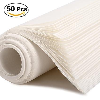 ULTNICE Rollos de papel de arroz de caligrafa china 50 hojas 1378