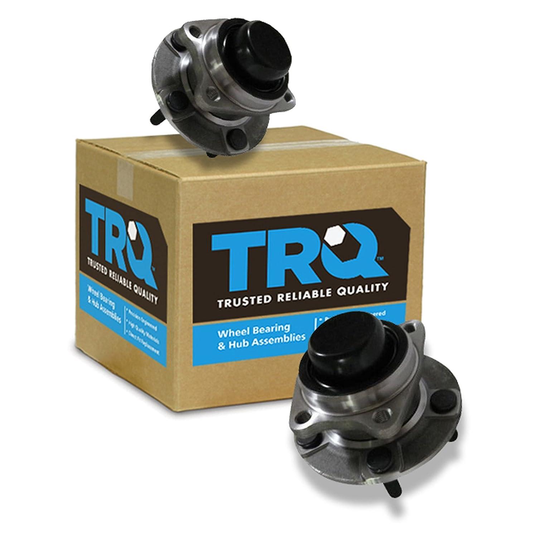 TRQ Rear Wheel Bearing Hub Set Pair for Voyager Caravan Town /& Country