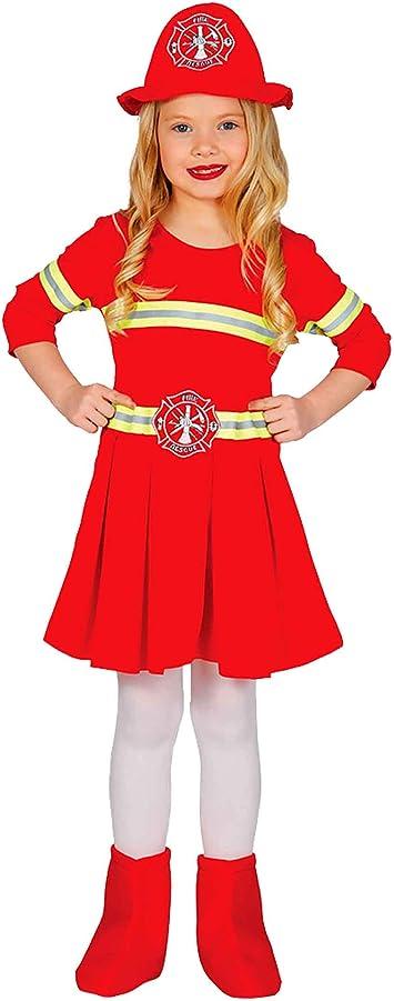 Guirca – Disfraz de bombero para niños, M, 83234: Amazon.es ...