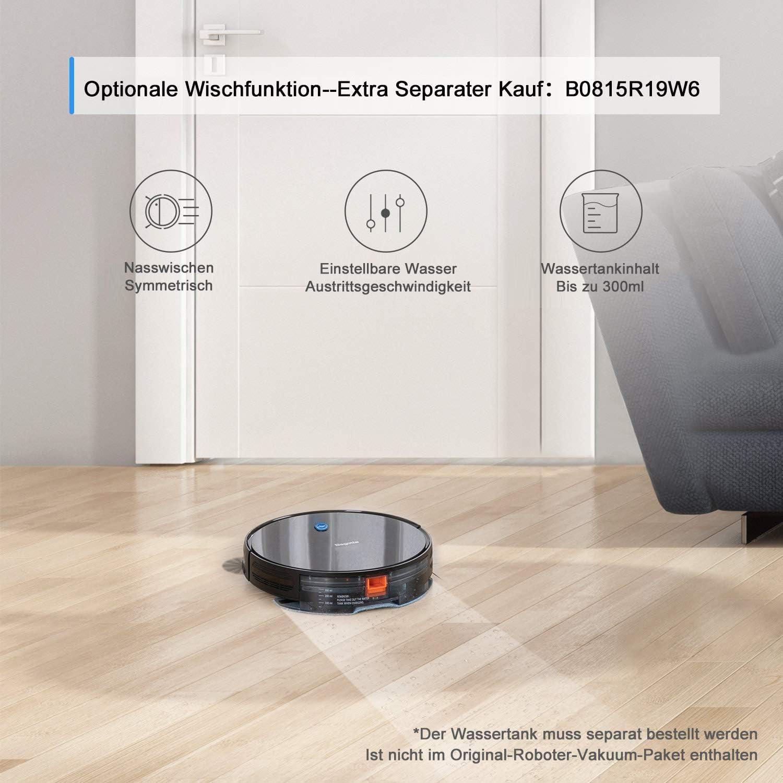 Bagotte Robot Aspirador, Potencia de 1500Pa para un Robot de Limpieza, Ultra Delgado(6,9 cm), Silencioso, Carga Automática y Navegación Para Pelos Largos de Animales, Alfombras, Baldosas, Suelos Duros: Amazon.es: Hogar
