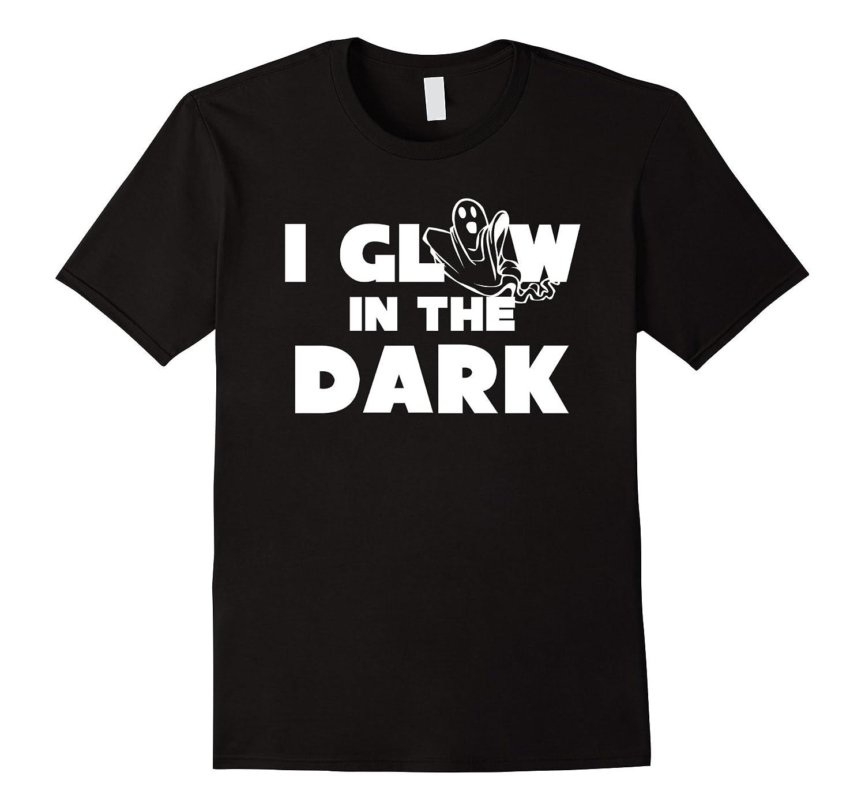 Funny Halloween T-Shirt Ghost Glow in the Dark Teacher Tee-FL