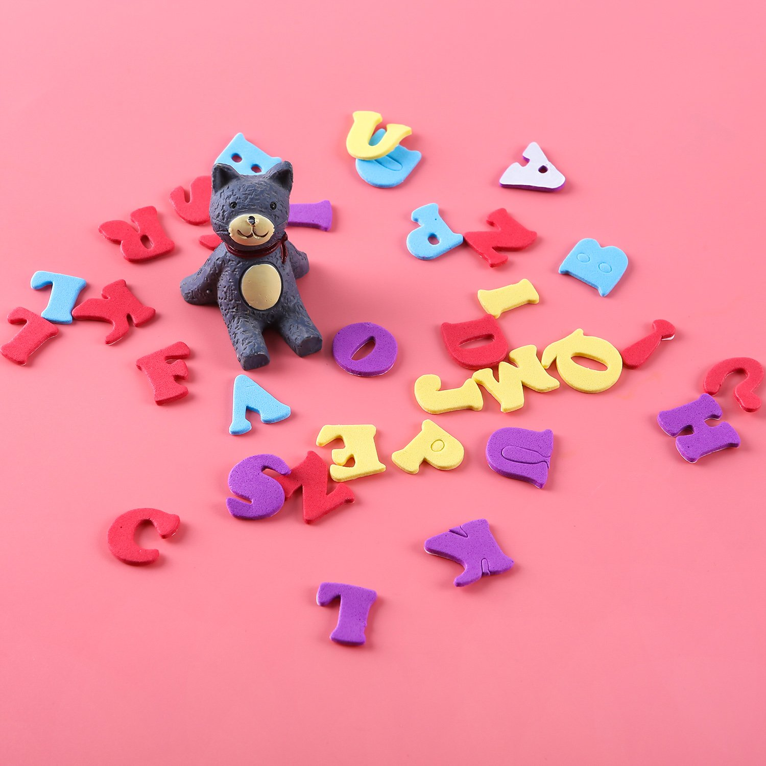 Aneco 624 Pieces Adhesive Foam Letters Self-Adhesive Letter Stickers ...