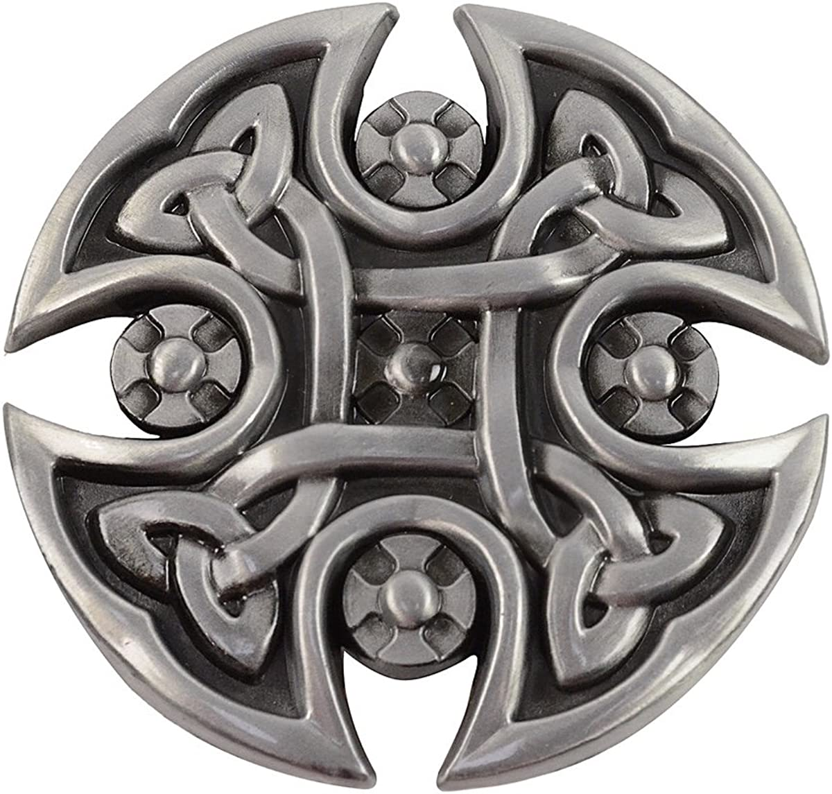 Celtic Shield With Multiple Knots Belt Buckle Official Branded Product
