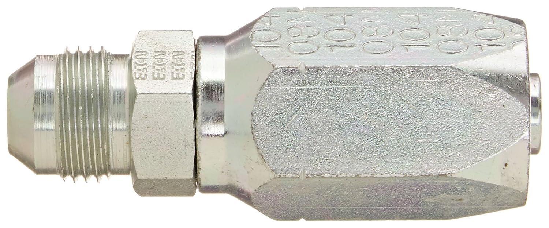 EATON Weatherhead 10408N-508 Male Rigid Fitting 1//2 Hose ID AISI//SAE 12L14 Carbon Steel SAE 37 Degree 1//2 Tube Size 1//2 Hose ID 1//2 Tube Size